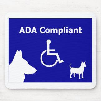 ADA Compliant Mouse Pad