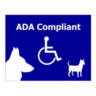 ADA Compliant Postcard