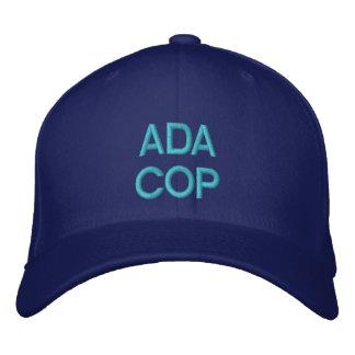 ADA COP - Customizable Cap @ eZaZZleMan.com Embroidered Baseball Cap