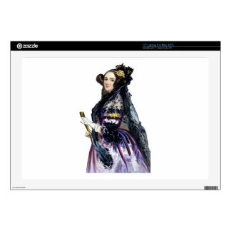 "ada countess of lovelace decals for 17"" laptops"