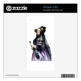 ada countess of lovelace iPhone 4S decals