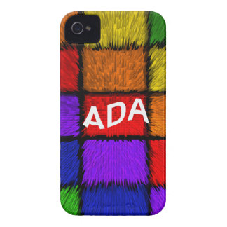 ADA ( female names ) Case-Mate iPhone 4 Case