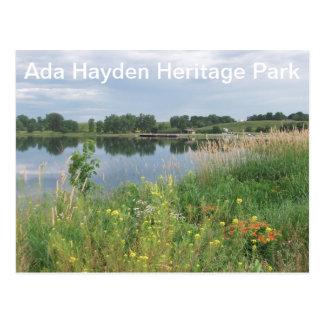 Ada Hayden Heritage Park, Ames,IA Postcard