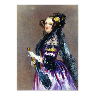 Ada King Countess of Lovelace by Alfred Chalon Card