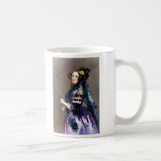 Ada King Countess of Lovelace by Alfred Chalon Coffee Mug