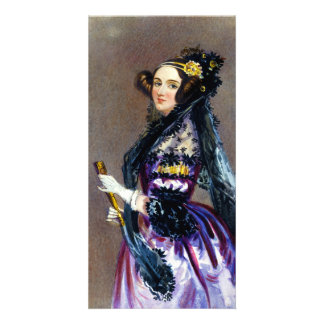 Ada King Countess of Lovelace by Alfred Chalon Photo Card Template