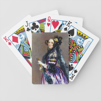 Ada King Countess of Lovelace by Alfred Chalon Bicycle Card Deck