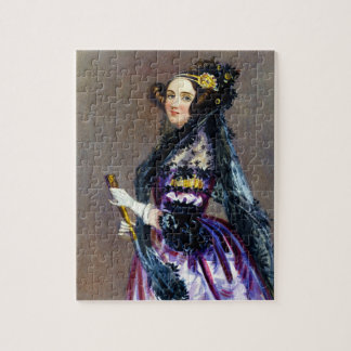 Ada King Countess of Lovelace by Alfred Chalon Puzzles