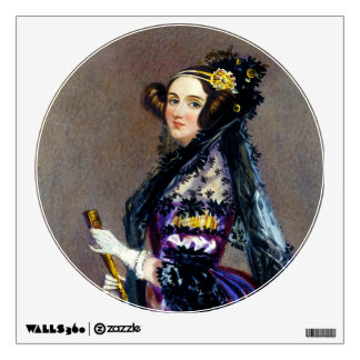 Ada King Countess of Lovelace by Alfred Chalon Wall Sticker