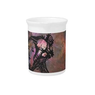 Ada Lovelace con la nebulosa de Orión Jarra De Beber