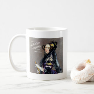 Ada Lovelace (Portrait by Alfred Chalon) Coffee Mug