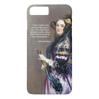 Ada Lovelace (Portrait by Alfred Chalon) iPhone 7 Plus Case