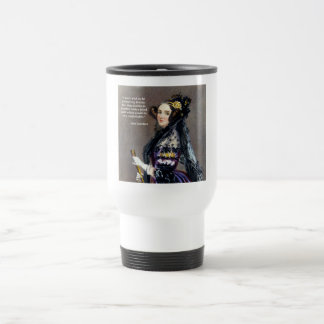 Ada Lovelace (Portrait by Alfred Chalon) Travel Mug