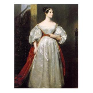 Ada Lovelace Tarjeta Postal