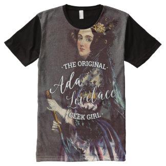Ada Lovelace - The Original Geek Girl All-Over-Print T-Shirt