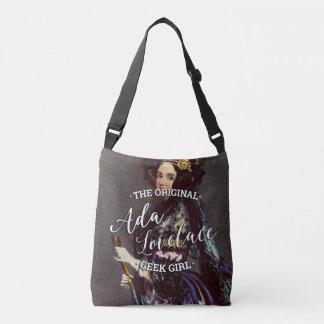 Ada Lovelace - The Original Geek Girl Crossbody Bag