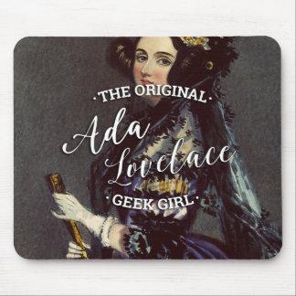 Ada Lovelace - The Original Geek Girl Mouse Pad