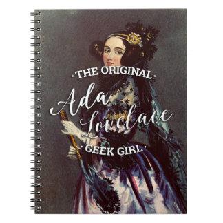 Ada Lovelace - The Original Geek Girl Notebook