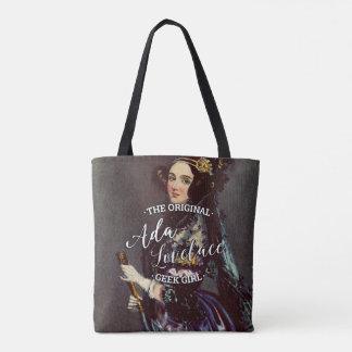 Ada Lovelace - The Original Geek Girl Tote Bag