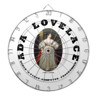 Ada Lovelace World s First Computer Programmer Dartboard With Darts