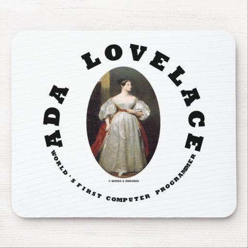 Ada Lovelace World's First Computer Programmer Mousepad