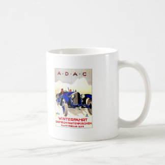 ADAC German Auto Race ~ Vintage Automobile Ad Coffee Mug