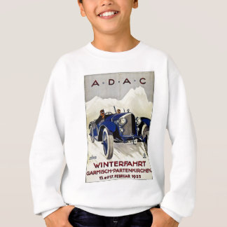 ADAC Vintage Automobile Advertisement 1925 Sweatshirt