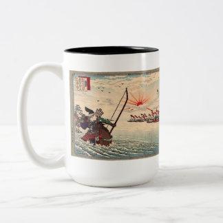 Adachi Ginko Two-Tone Coffee Mug