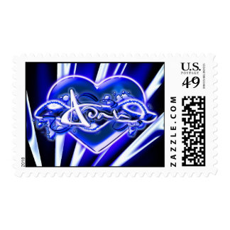 Adah Postage Stamps