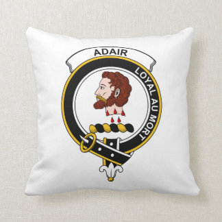 Adair Clan Badge Throw Pillow