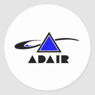 ADAIR Co. Band logo Classic Round Sticker