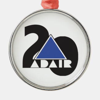 ADAIR County Band 20th State Championship Metal Ornament