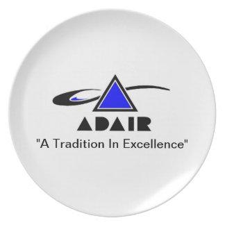 Adair Plate