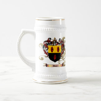 Adair Shield / Coat of Arms Beer Stein