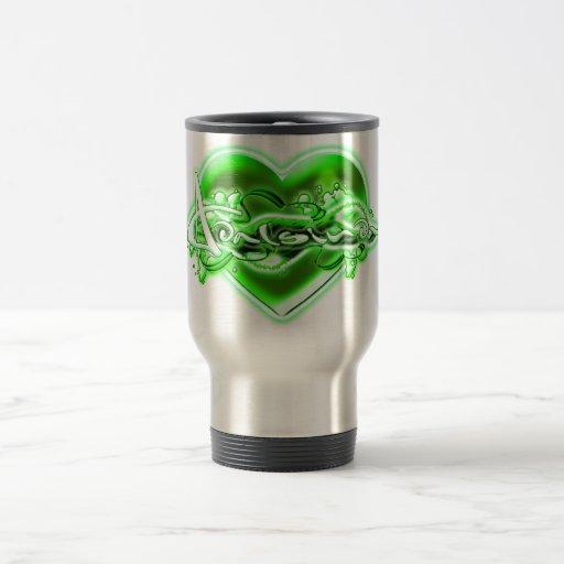 Adalsinda 15 Oz Stainless Steel Travel Mug
