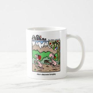 adam1 classic white coffee mug