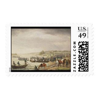 Adam Albrecht Italian Corp of Eugene Beauharnaiss Stamp