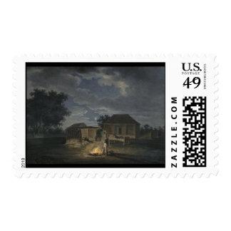 Adam Albrecht Veliki Solezhniki Stamp