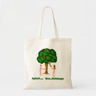Adam and Eva Tote Bag