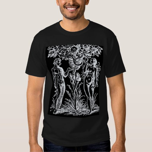 Adam and Eve and the Tree of Knowledge 2 T-shirt