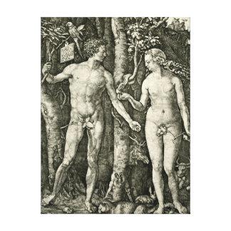 Adam and Eve by Albrecht Durer Canvas Print