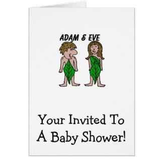 Adam and Eve Card