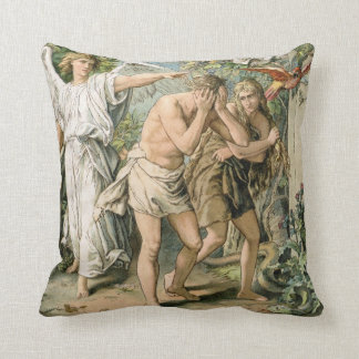 Adam and Eve cast out of Paradise Pillow