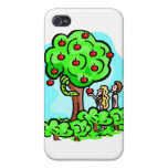 Adam and Eve Christian artwork Cases For iPhone 4