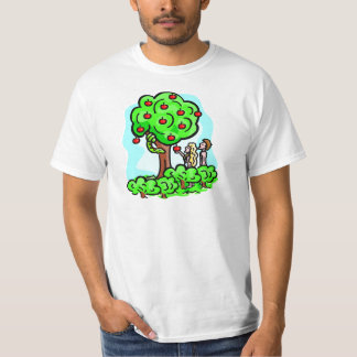 Adam and Eve Christian artwork T-Shirt
