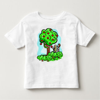 Adam and Eve Christian artwork Toddler T-shirt