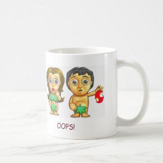 Adam and Eve Cute Bible Story Mug