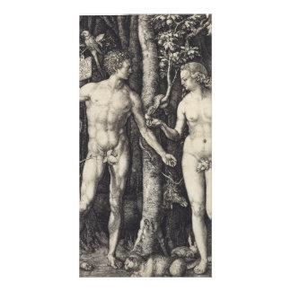 Adam and Eve Engraving by Albrecht Durer Card