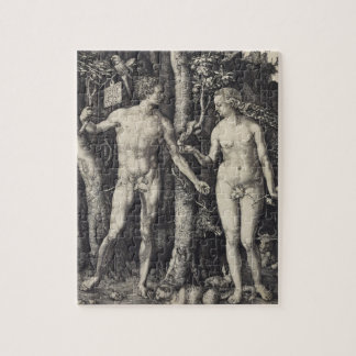 Adam and Eve Engraving by Albrecht Durer Puzzles