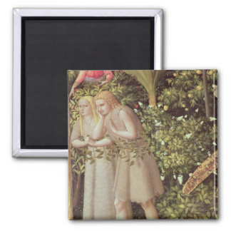 Adam and Eve Expelled from Paradise Magnet